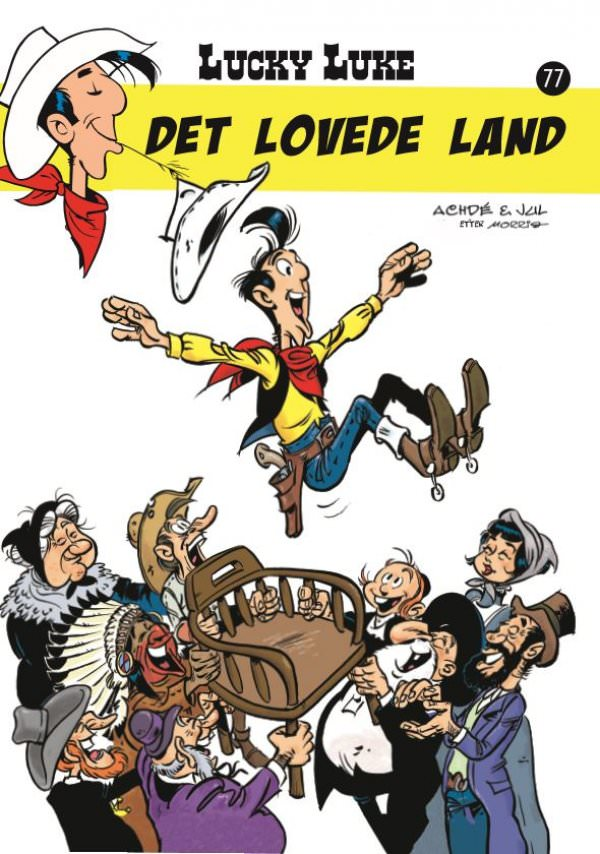 LUCKY LUKE NR.77, DET LOVEDE LAND