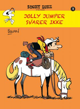 LUCKY LUKE NR.78, JOLLY JUMPER SVARER IK