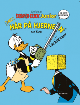 HÅR PÅ HJERNEN! - DONALD DUCK JUNIOR BOK