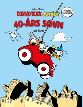 40-ÅRS SØVN - DONALD DUCK JUNIOR BOKSERI