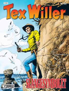 TEX WILLER SLANGESYMBOLET