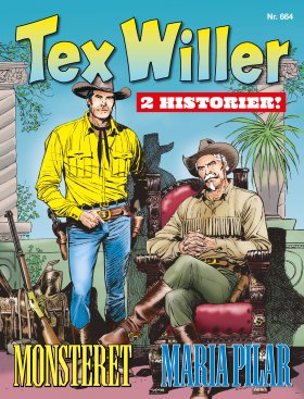 TEX WILLER-MONSTERET/MARIA PILAR
