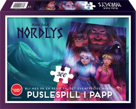 NORDLYS PUSLESPILL I PAPP 300 BITER