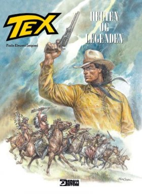 TEX WILLER ALBUM 1-HELTEN OG LEGENDEN